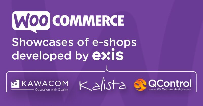 e-shops developed by EXIS showcased at WooCommerce Customer Showcase